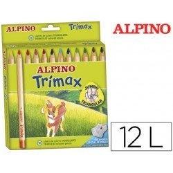 LAPIZ TRIANGULAR GRUESO TRIMAX