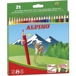 LAPIZ ALPINO DE 24 COLORES