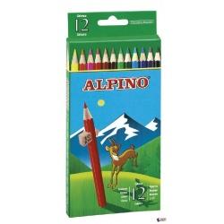 LAPIZ ALPINO DE 12 COLORES