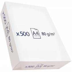 PAPEL A4 500 UDES. 80 GRS.