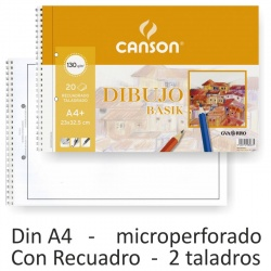 BLOCK DIBUJO ENMARCADO CANSON